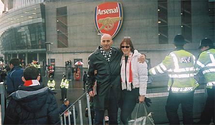 Jayl & Niki - Arsenal v Spurs - Xmas 2007