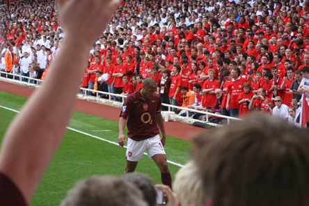 FINAL GAME @ HIGHBURY MAY 7th 2006 - The Great Thierry Henry