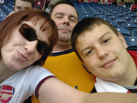 Niki, Steve & Tom - Blackburn Away -  Sept 2008